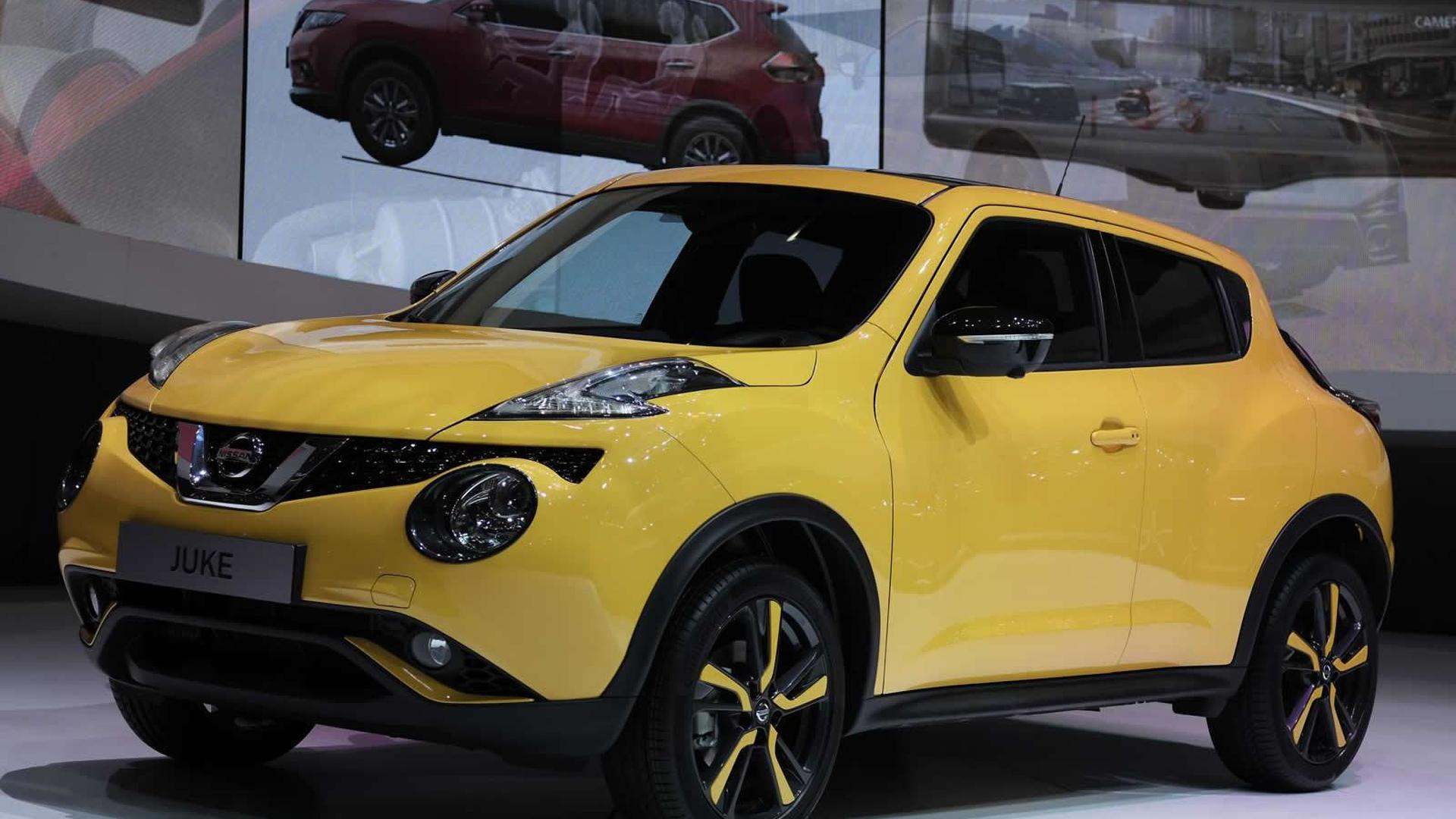 facelifted nissan juke comes to geneva with 115 hp 1 2 liter dig t engine. Black Bedroom Furniture Sets. Home Design Ideas