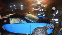 Bugatti Veyron crashed in Austria