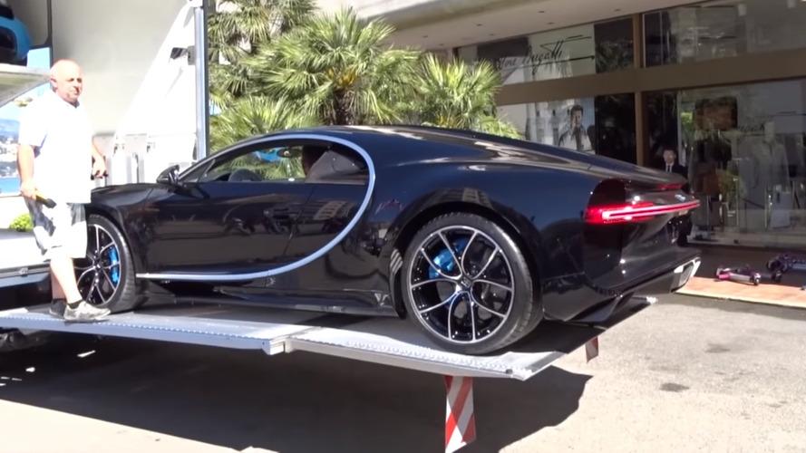 Vidéo - La Bugatti Chiron débarque à Monaco
