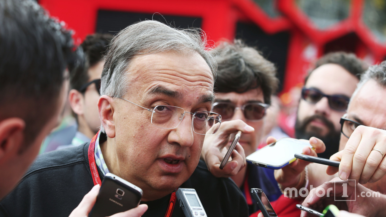 Sergio Marchionne, Ferrari President and CEO of Fiat Chrysler Automobiles
