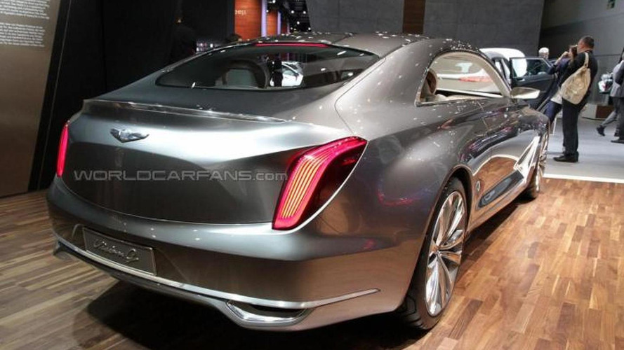 Hyundai tries to move upmarket with Vision G Coupe in Frankfurt