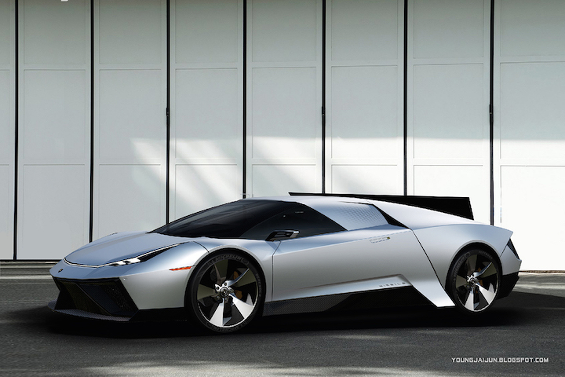 Lamborghini Missile Concept Is A Blast To The Future