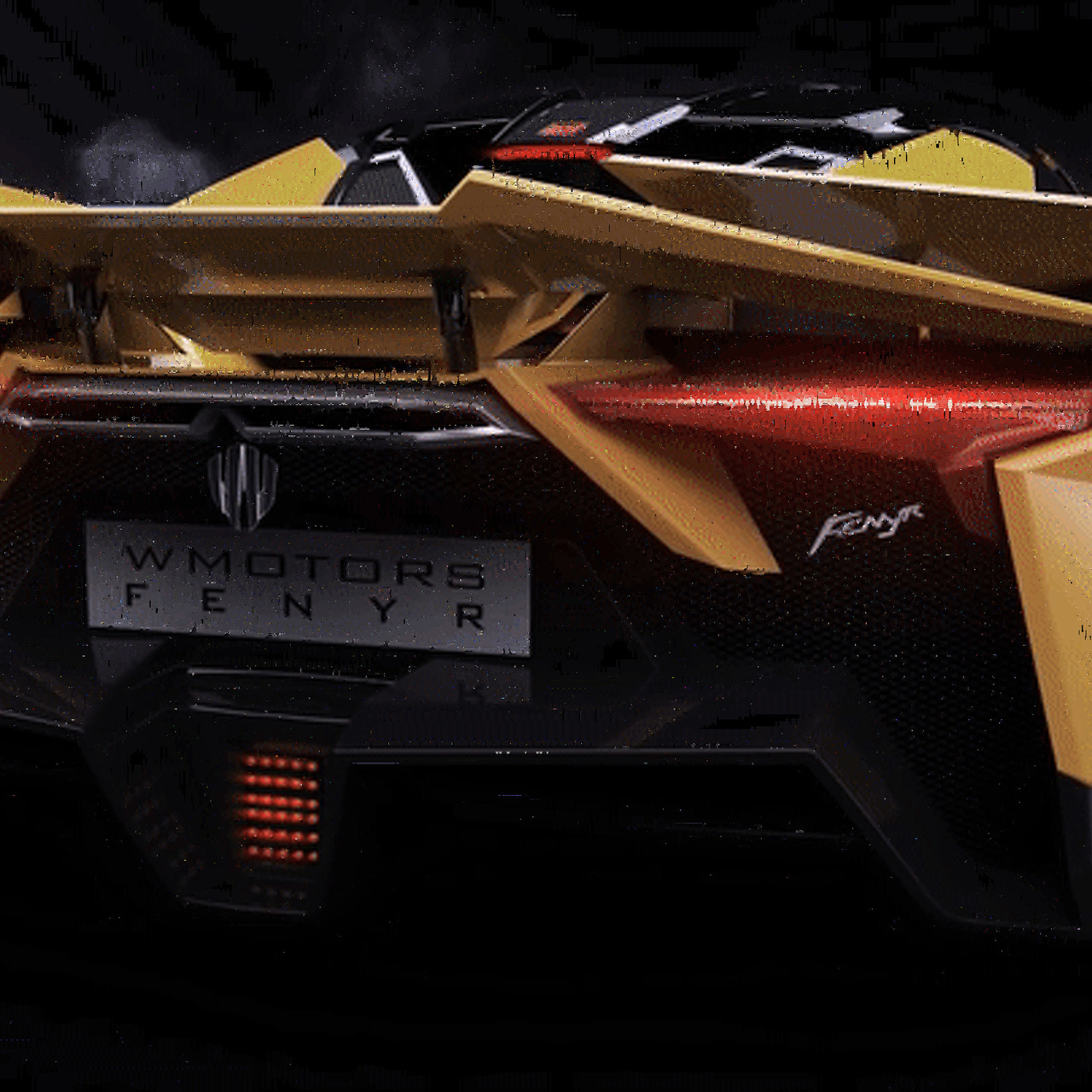 The 900-HP Fenyr Supersport Might Have the Coolest Spoiler Ever