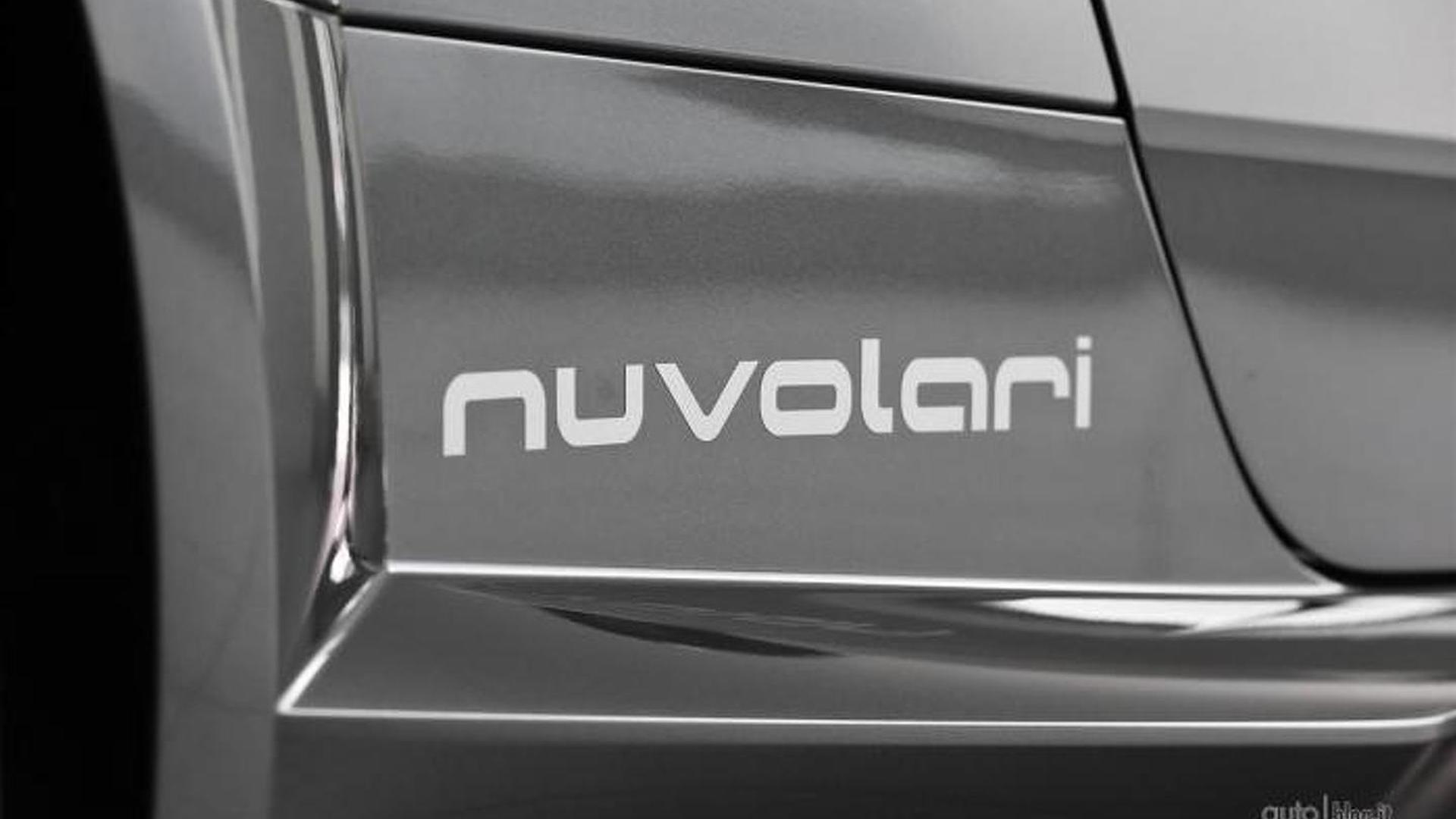 Надпись Nuvolari на боках кузова Audi TT