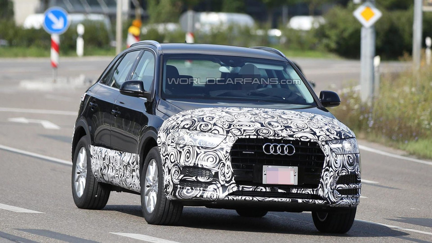 Audi Q3 facelift reportedly coming in December