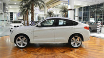 BMW X4 with M Sport Package showcased at Abu Dhabi dealer