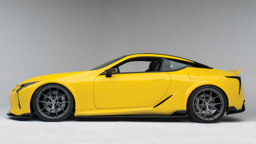 Et pourquoi pas une Lexus LC Cabriolet ?