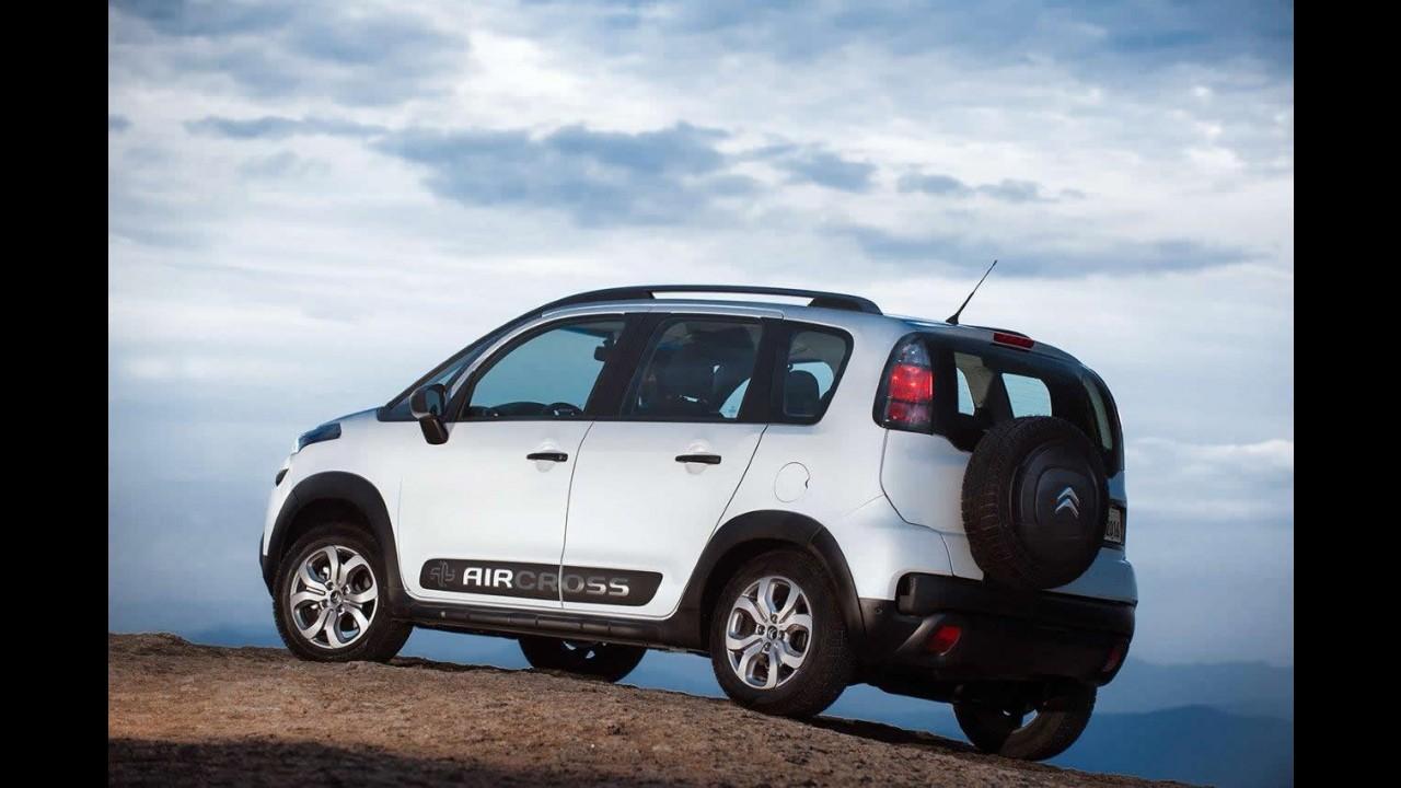 Citroën lança novo Aircross 2016 em duas configurações - veja preços