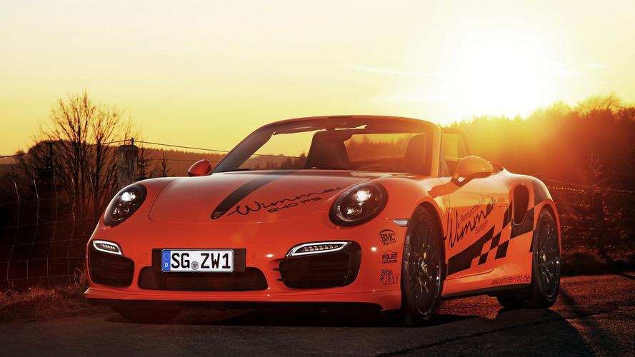 Porsche 911 Turbo S Cabriolet with 840 hp will only cost you $324,000