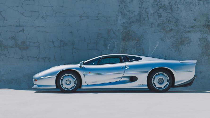 eBay'de satılan çok nadir 1994 Jaguar XJ220