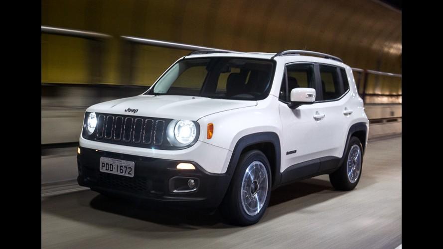 Recall: Jeep Renegade é convocado no Brasil para reparar airbags da Takata