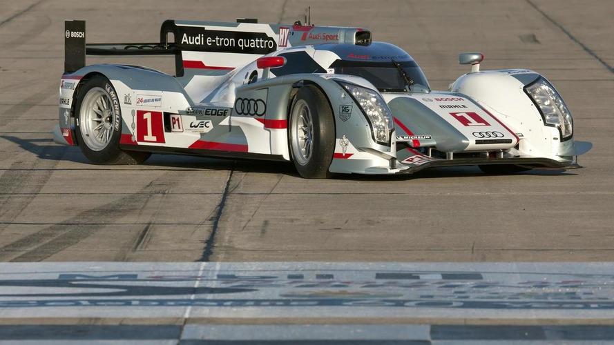 Two LMP1 Audi R18 e-tron quattro cars to compete at Sebring