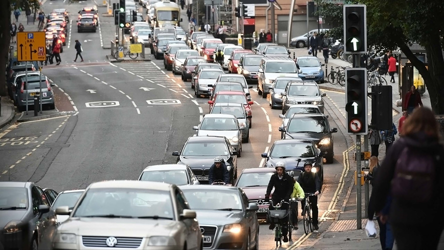 Britain's gridlock cost the economy £37.7 billion in 2017