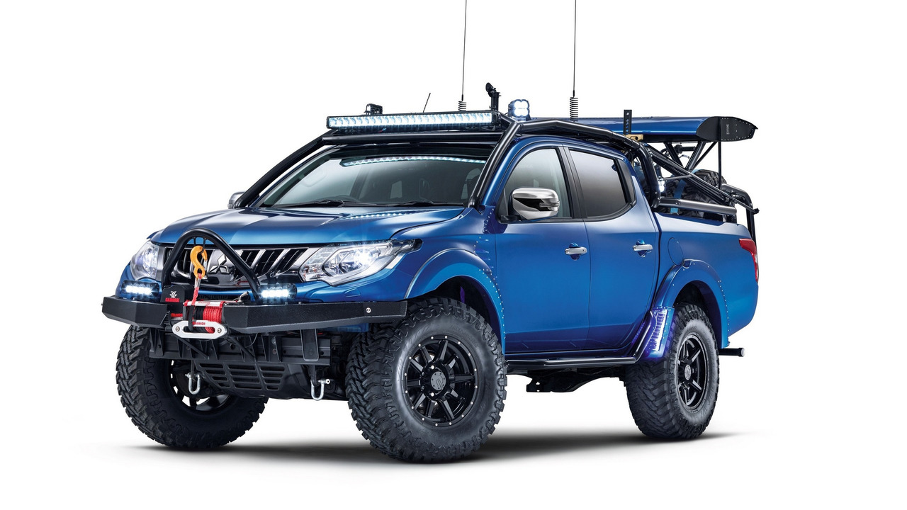 Truck Step Up >> 2017 Mitsubishi L200 Desert Warrior and L200 Barbarian | Motor1.com Photos
