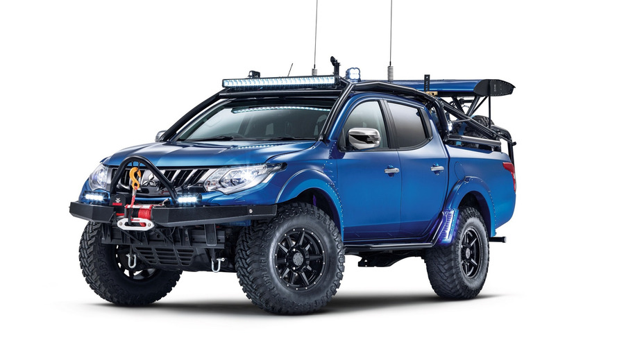 2017 Mitsubishi L200 Desert Warrior and L200 Barbarian SVP