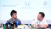 Fernando Alonso and Zak Brown