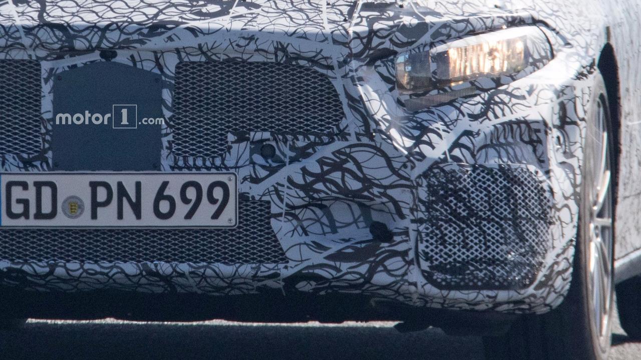 2019 Mercedes-AMG A40 spy photo