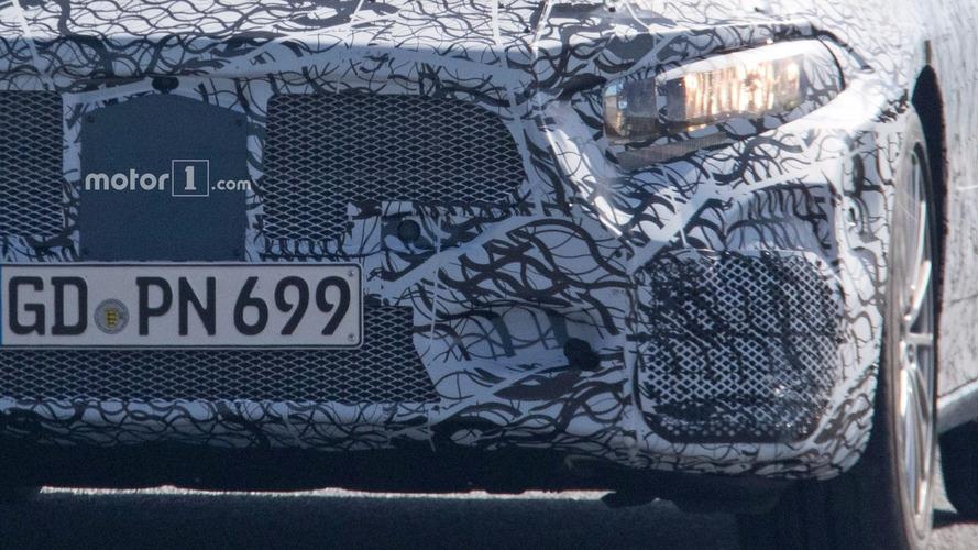 2019 Mercedes-AMG A40 spy photos