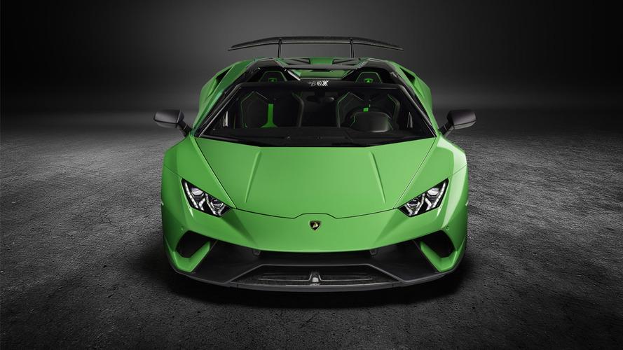 VIDÉO - La Lamborghini Huracán Performante perd son toit !
