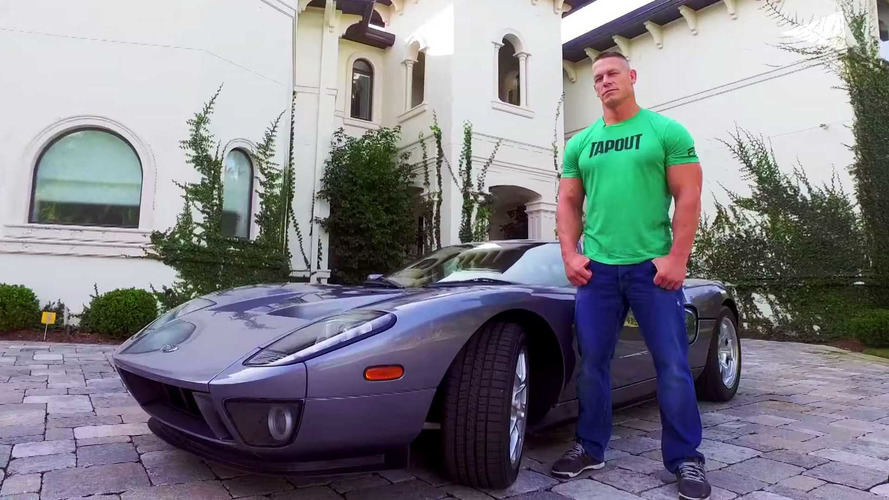 John Cena Is An Auto Geek - Check Out His 2006 Ford GT