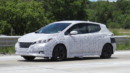 New 2018 Nissan LEAF Spyshots: Interior And Exterior Revealed