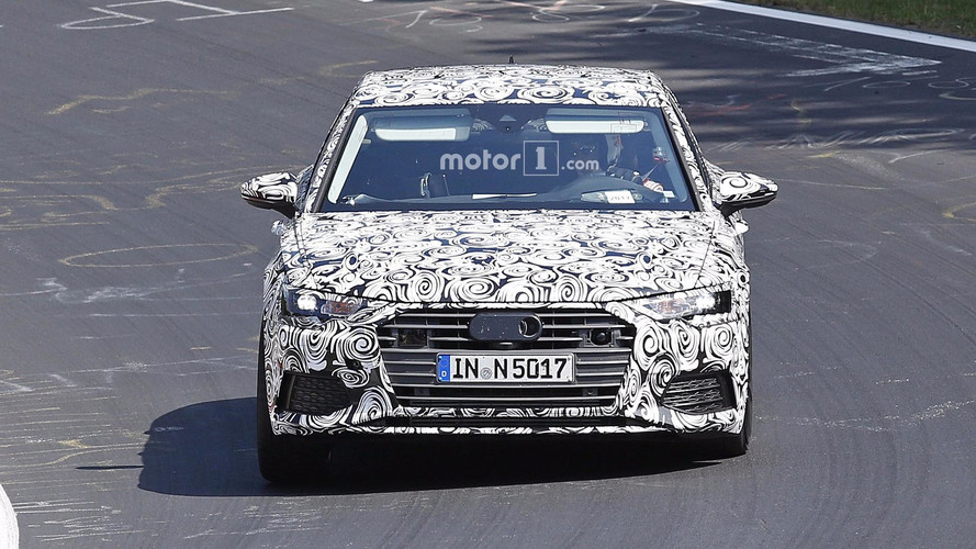 Audi A6 Photos espions