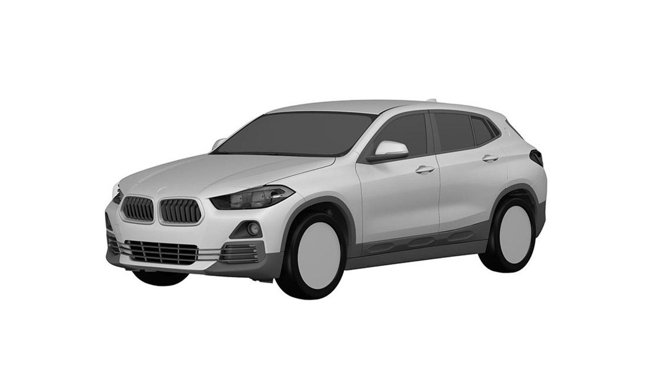 BMW X2 patent drawings