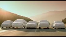 Nissan mostra uma prévia de cinco modelos redesenhados, entre eles o Novo Sentra e o Versa Hatch
