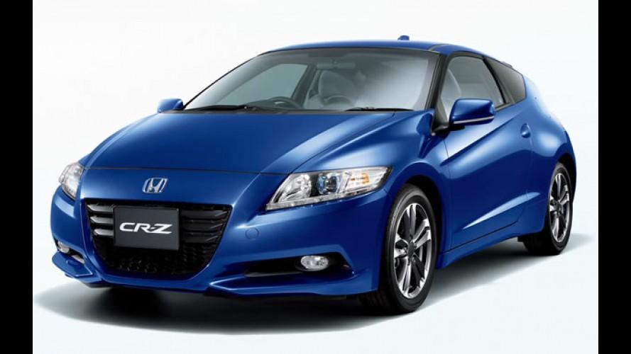 Honda CR-Z Memorial Award Edition: Série especial celebra o Carro do Ano no Japão