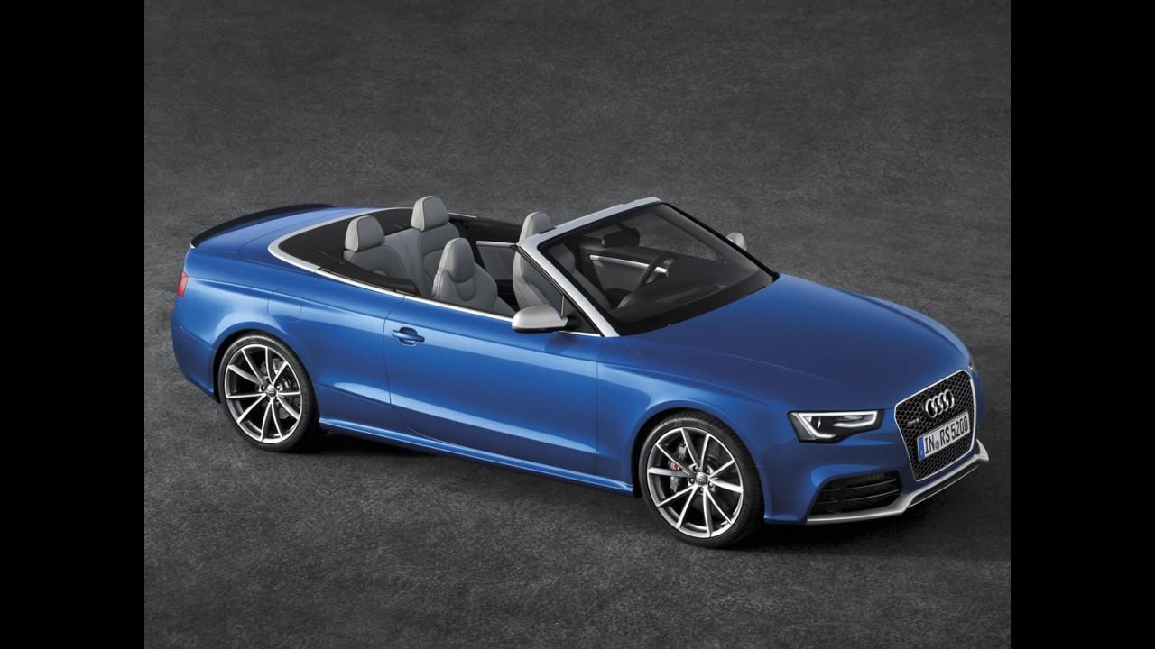 Audi RS5 Cabriolet é revelado - Conversível tem motor V8 de 450 cavalos