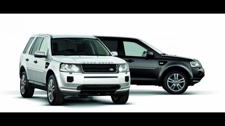 Land Rover Freelander ganha edição limitada Black & White no Reino Unido