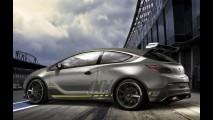 Esta é a primeira foto do Opel Astra OPC