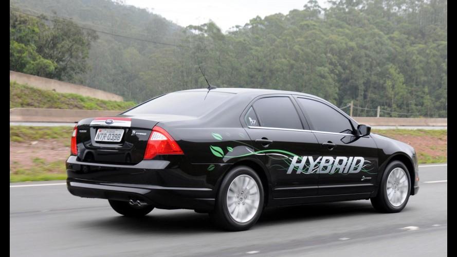 Ford vende 175 unidades do Fusion Hybrid no Brasil em um ano