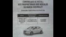 Recall: Chevrolet convoca Onix 1.0 para substituição das rodas de aço