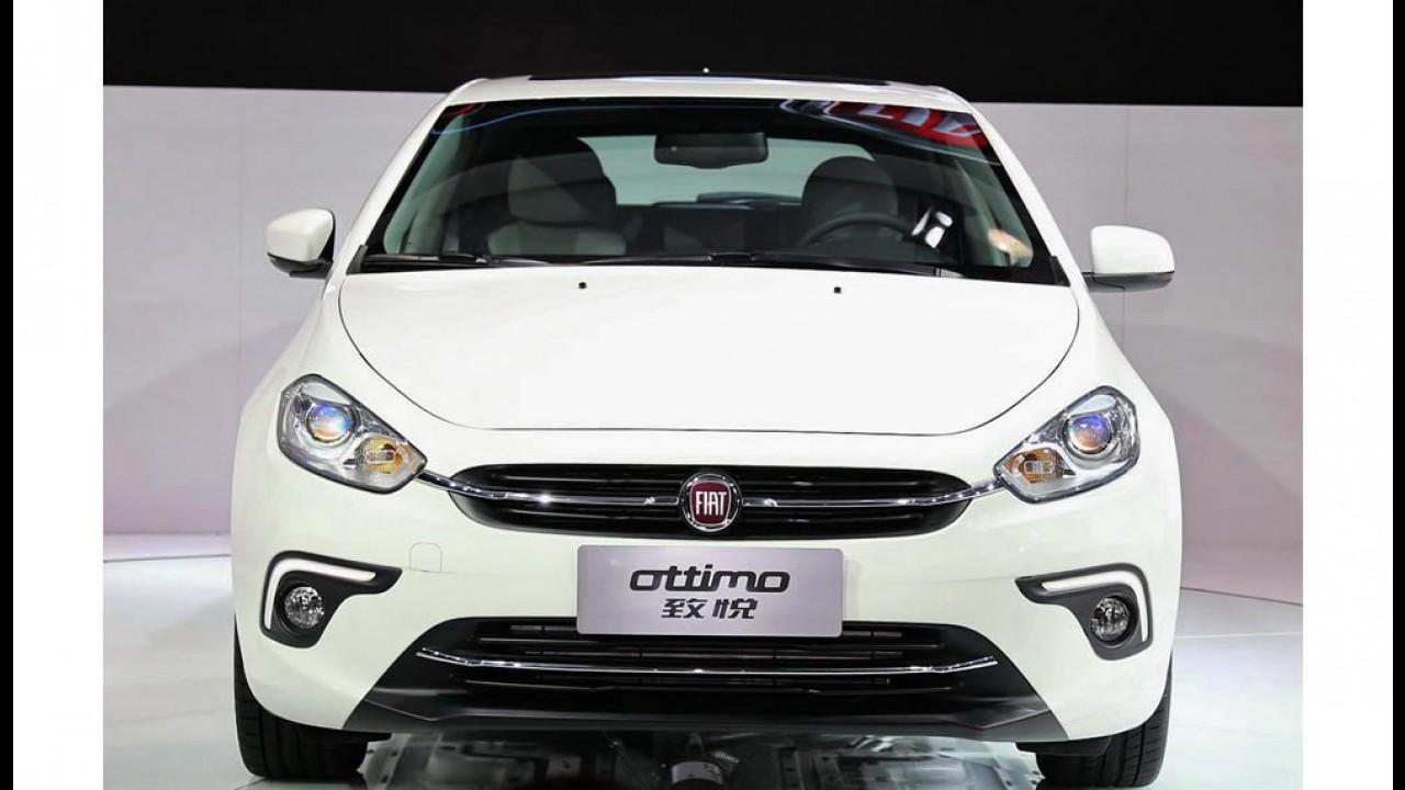 """Galeria: Fiat Ottimo 2014 - veja mais fotos externas e internas do """"novo Bravo"""""""