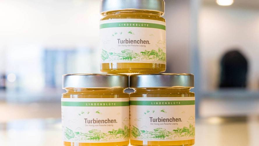 Porsche creates its first honey