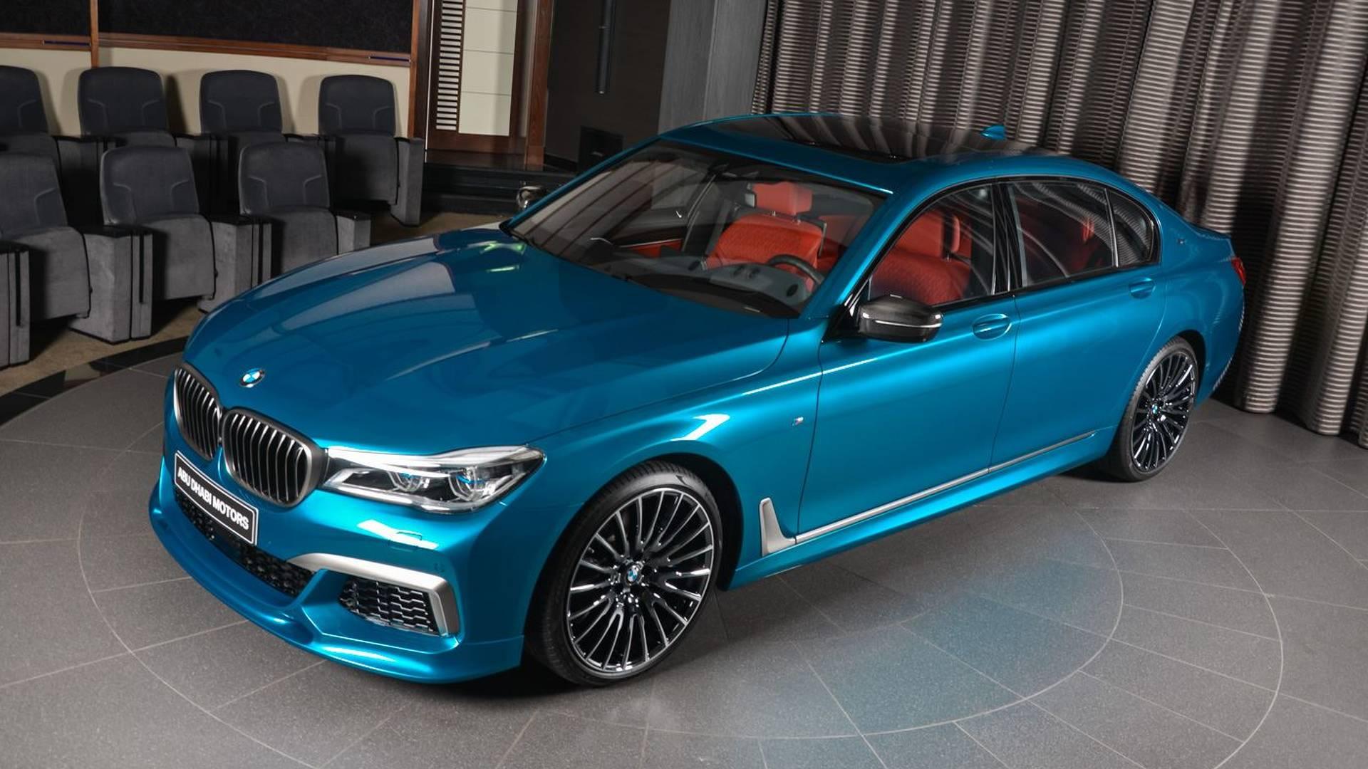 MLi Individual Long Beach Blue Is BMW Abu Dhabis Latest Toy - Blue bmw
