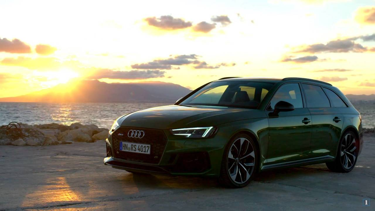 Audi Rs4 Avant Sonoma Green Is Hulk Approved In Promo Video