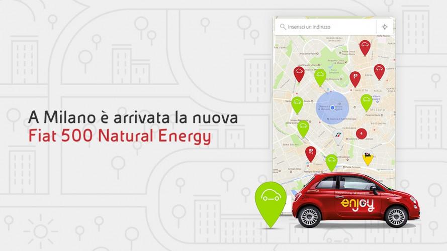 Enjoy, a Milano arrivano le Fiat 500 a etanolo