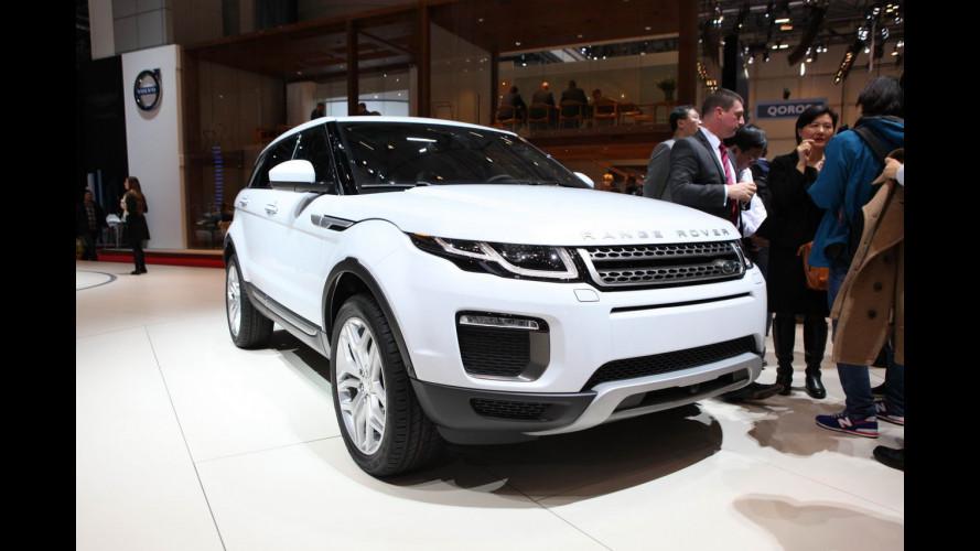 Land Rover al Salone di Ginevra 2015
