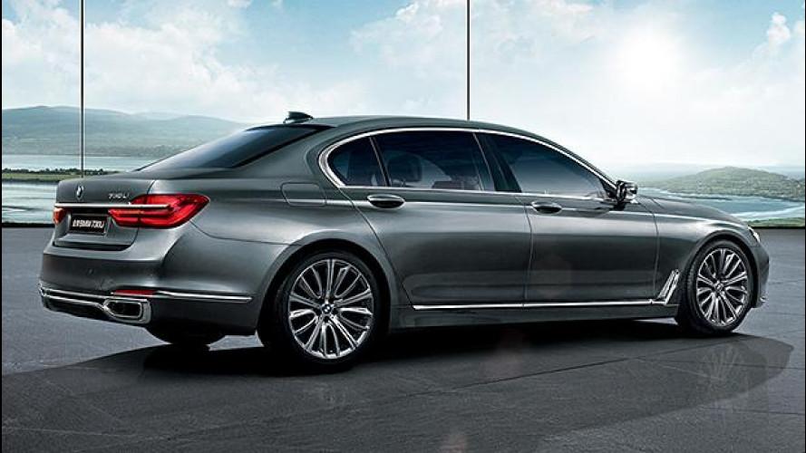 BMW Serie 7, anche lei a 4 cilindri