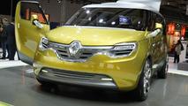 Renault Frendzy Concept live in Frankfurt 13.09.2011