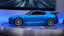 Subaru BRZ STI concept live in Los Angeles 16.11.2011