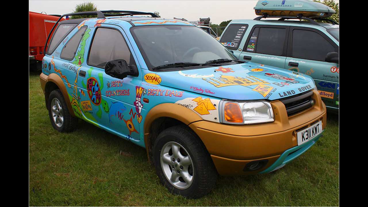 Land Rover Freelander 50/50 Show (1997)