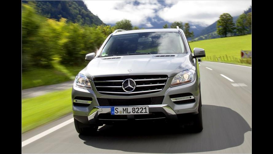 Mercedes-Benz M-Klasse: Dritte Generation im Anmarsch