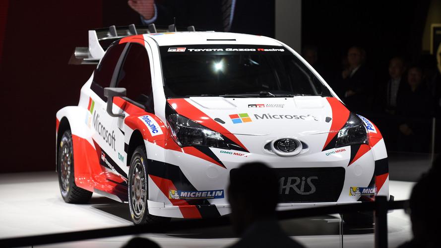 Toyota, 2017'de WRC'ye Microsoft ortaklığı ile geri dönüyor