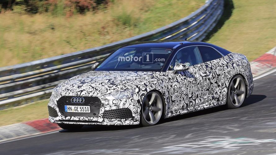 2018 Audi RS5 Coupe, Nürburgring'de takla kafesiyle görüntülendi