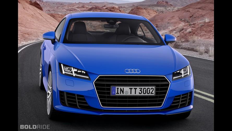 Audi TT 2.0 TDI'a Quattro sistemi eklendi