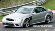Mercedes CLK DTM Spy Photo