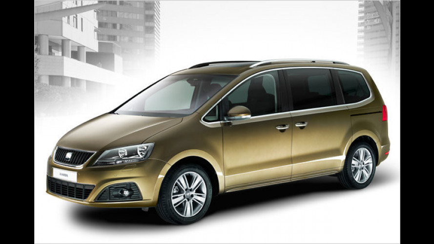 Seat Alhambra: Fast 1.400 Euro günstiger als der VW Sharan